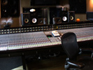 SSL mixing desk in Sofa Sound Studio