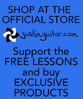 The JustinGuitar Store